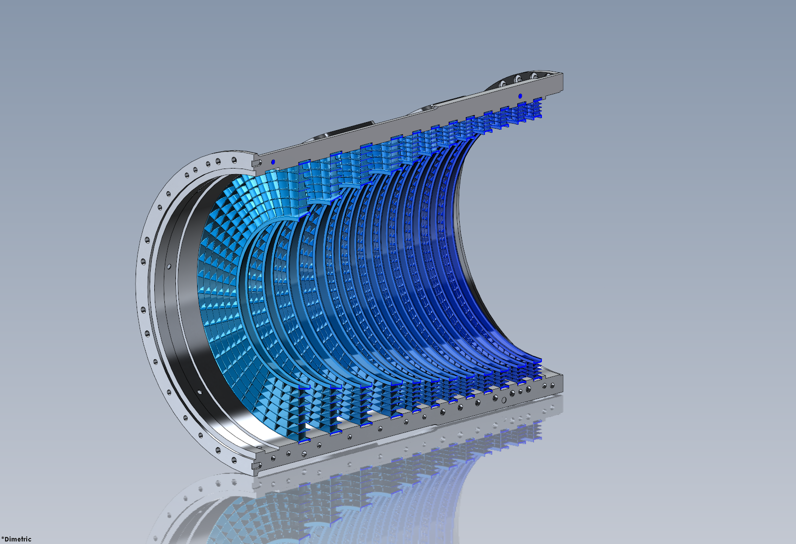 IsoCool 501K Isothermal compression for Gas turbine engines - efficiency