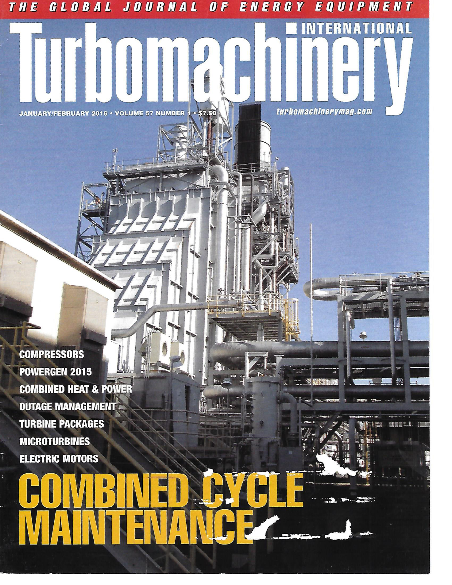 TurboMachinery International Mag Civer Feb 2016 with Isothermal Compression