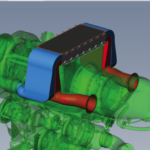 Microfire Turboshaft Recuperator